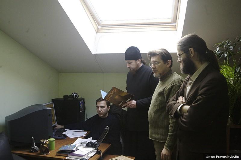 Будни редакции портала Православие.Ru