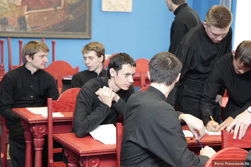 На занятиях. Фото: Православие.Ru