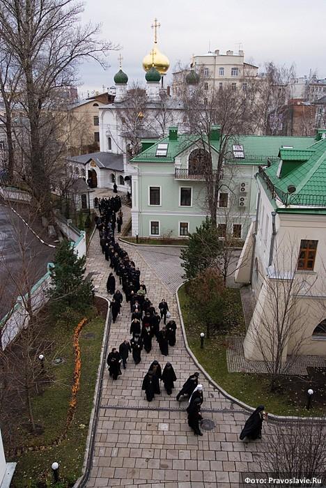 Чин о Панагии. Фото: Православие.Ru