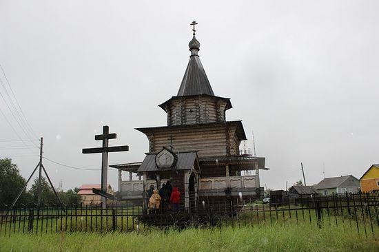Никольский храм в селе Великовисочное