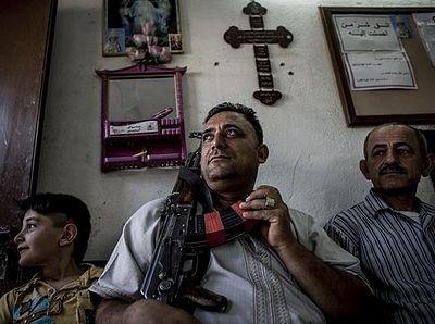 43-летний житель Ниневии принял мученическую смерть за Христа
