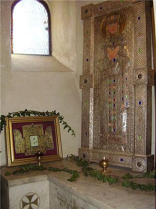 Гробница святой царицы