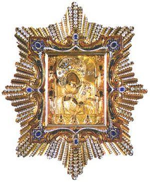 Чудотворная икона Почаевской Богородицы