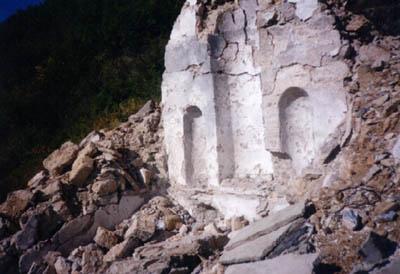 Руины монастыря святого Марка. Нынешнее состояние