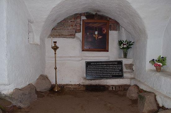 Келья преподобного Александра Свирского