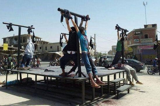 8 разапетих и убијених хришћана у Сирији