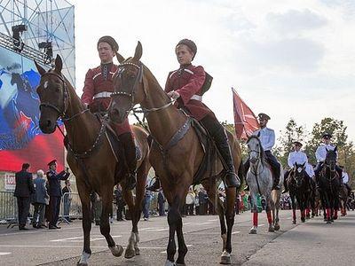 Фестиваль «Казачья станица» в Лужниках. Фоторепортаж