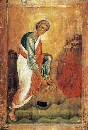 Моисей пророк. XIII в., Египет. Монастырь Св. Екатерины на Синае