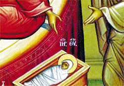 3. Both Saint Anna and Saint Joachim who were childless for many years, present their child.