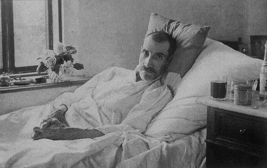 Последняя прижизненная фотография А.С. Грина. Старый Крым, июнь 1932 г.