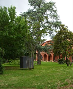 На территории комплекса Румынской Церкви вблизи Рима