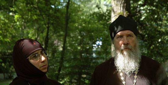 Священник Иоанн Каледа и схиигумения Иоанна