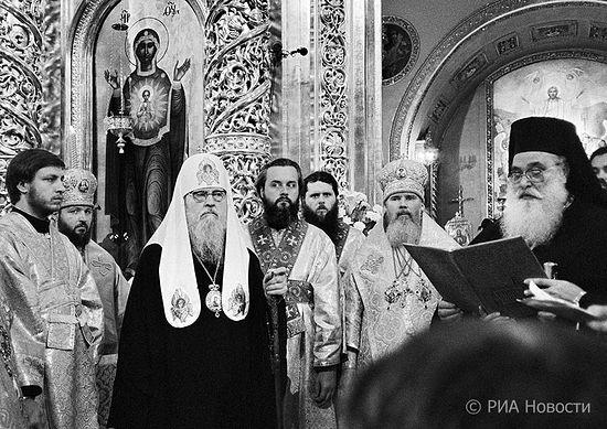 Патриарх Московский и Всея Руси Пимен. 1988. Фото: Олег Макаров