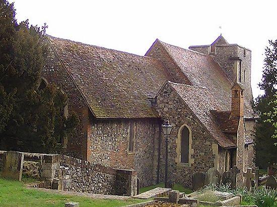 Церковь св. Мартина в Кентербери - одно из старейших церковных зданий в Англии