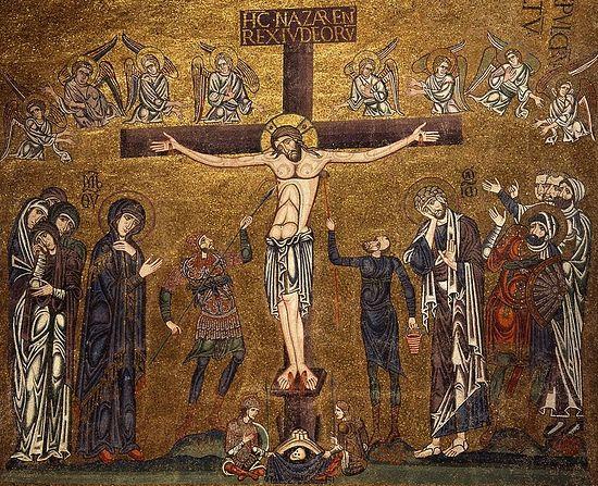 Распятие. Мозаика собора Святого Марка в Венеции, 1071-1280