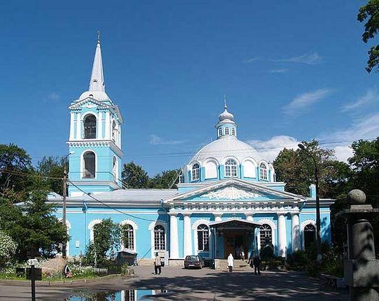 Храм Смоленской иконы Божией Матери