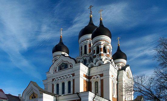 Кафедральный Александро-Невский собор в Таллине