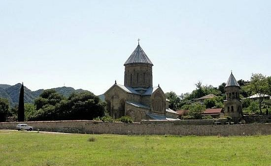 Монах Георгий будет похоронен во дворе монастыря Самтавро.