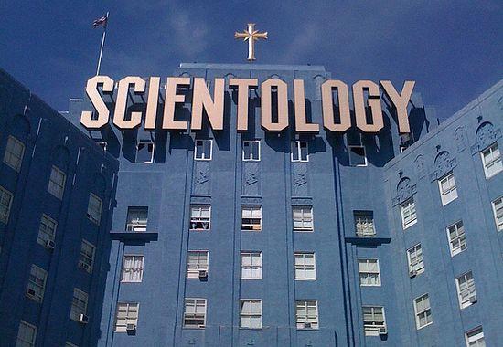 Здание сайентологов в Лос-Анджелесе