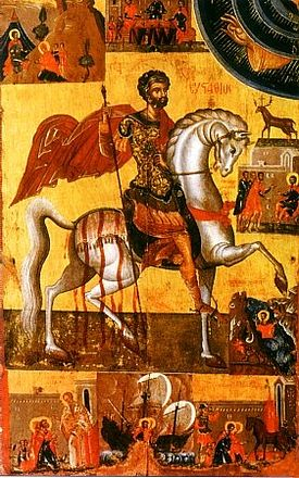 The Holy Great-martyr Eustathius Placidas