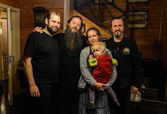 С отцом Артемием Владимировым
