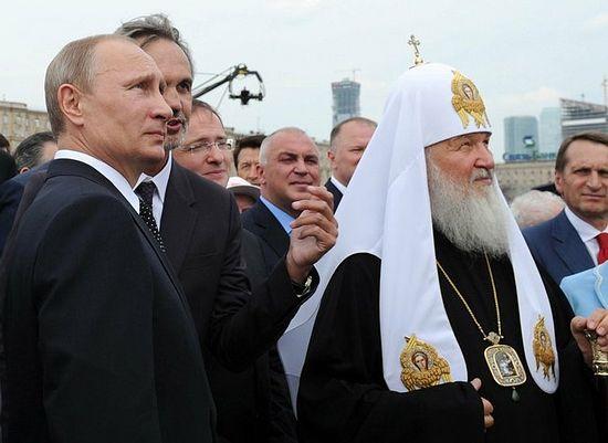 После церемония открытия памятника героям Первой Мировой на Поклонной горе. Фото: putin.kremlin.ru