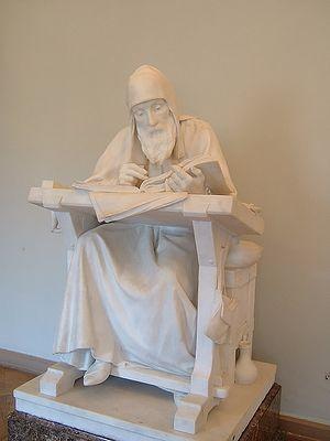 Нестор Летописец, автор «Повести временных лет». М. Антокольский. 1871