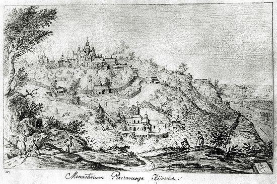 Ближние пещеры. Автор Абрахам ван Вестервельд, 1651 год