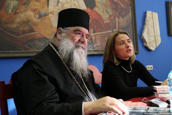 Митрополит Афанасий Лимасольский. Фото: В.Ештокин / Pravlib.ru