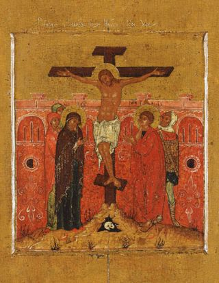 Crucifixion, Russia, late 17th century (private collection, Sydney).