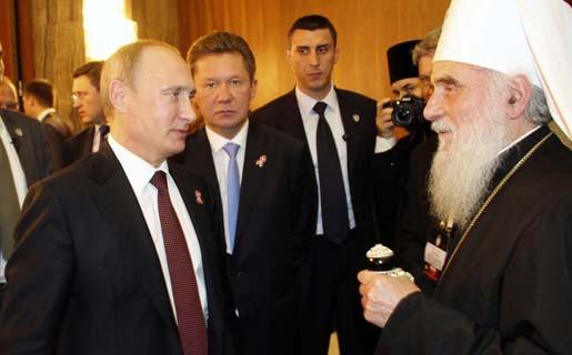 Његова Светост Патријарх српски г. Иринеј сусрео се са председником Руске Федерације г. Владимиром Путином.