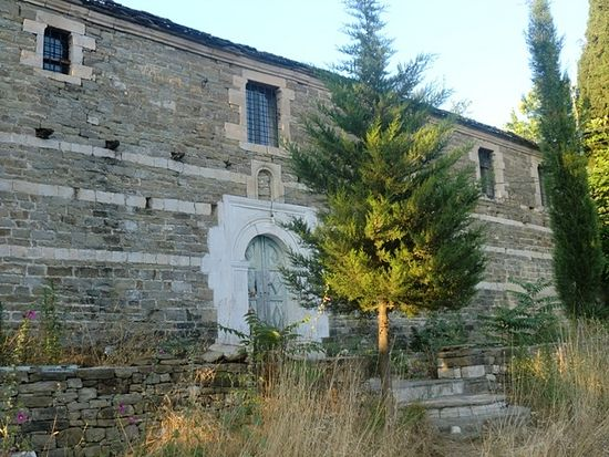 The church of St. Nicholas in the village of Cercka   Photo by : Florenc Drizari