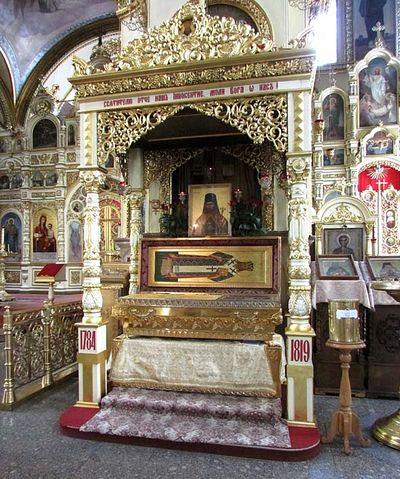 Рака с мощами святителя Иннокентия Пензенского