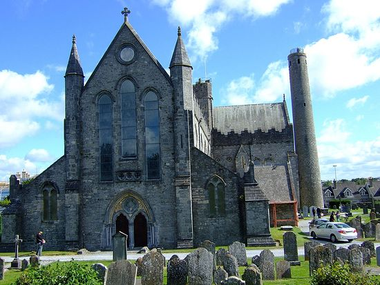 St. Canice's Anglican Cathedral in Kilkenny, Ireland