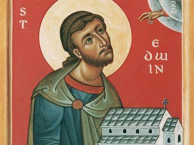 Святой Эдвин, король Нортумбрии и мученик