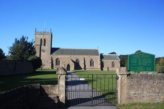 Церковь св. Марии в Нортон-Какни, Ноттингемшир