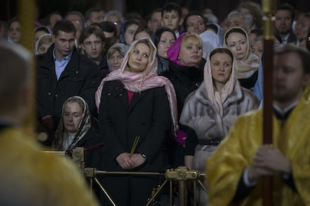 The end of Communism was extremely stressful, but Russians are finding their faith again (AP)