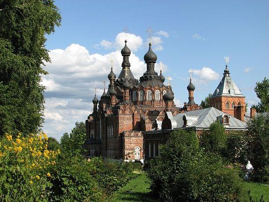 Казанский собор в Шамординской обители. Август 2009