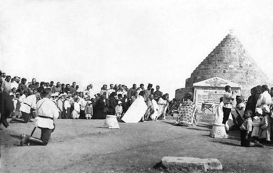 Освящение галлиполийского памятника 16 июля 1921 г.Фото: www.udcrg.org