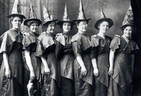 Костюмы ведьм. США. 1910 г.