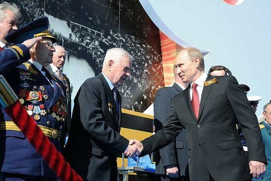 Парад Победы на Красной площади, 9 мая 2014 г. Фото пресс-службы Президента