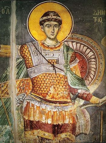 St. Demetrios the Myrrh-Gusher (Feast Day - October 26)