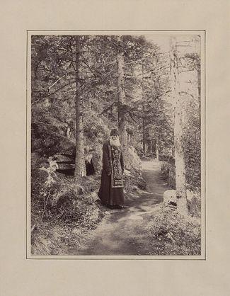 Валаамский монах-схимник, 1887