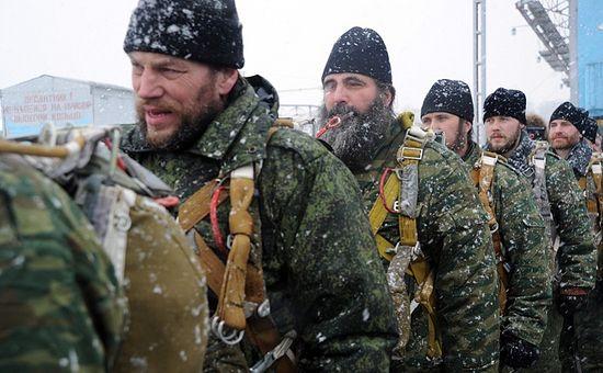 Войсковые священники на сборах в Рязанском училище ВДВ им. Маргелова.