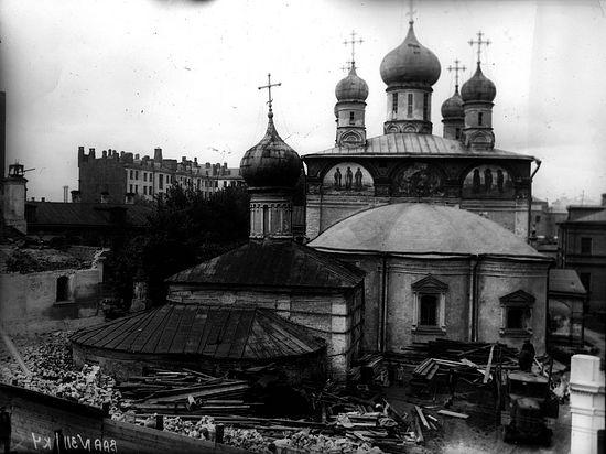 Сретенский монастырь в 1920-е годы