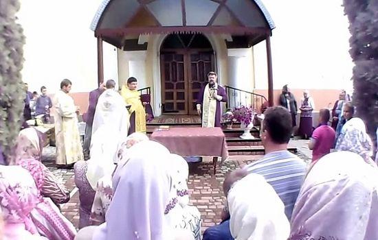 Храм в Рачине был захвачен раскольниками еще 31 августа 2014 г.