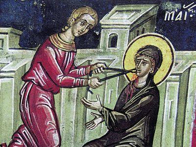 Святая мученица Анастасия Римляныня: сила Христова