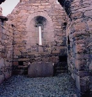 One of two churches founded by St.Colman on Aranmore