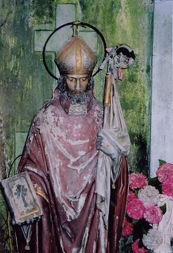 Statue of St. Colman