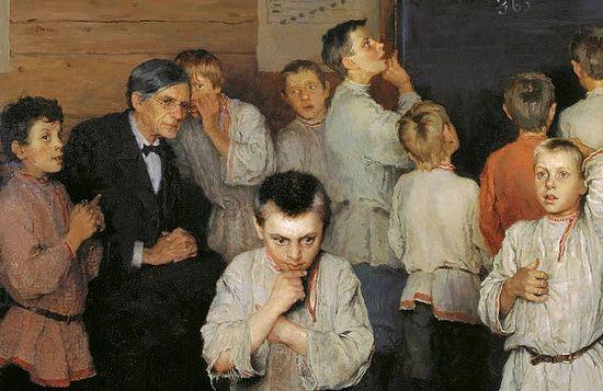 «Устный счёт. В народной школе С. А. Рачинского» — картина русского художника Н. П. Богданова-Бельского (1868—1945), написанная в 1895 году.
